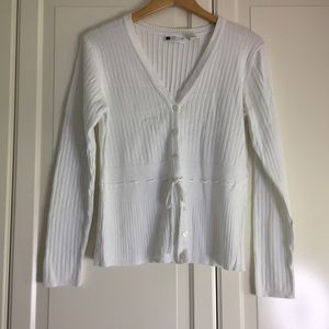 🔥2 for $40🔥 Carole Little White Cardigan